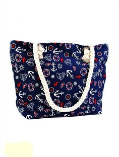 X X Strap: Perfect for school, work, or the beach. Beach Tote Bags, Canvas Tote Bags, Wraps, 12 X 5, Summer Essentials, Cover, Purses And Bags, Gym Bag, Nautical