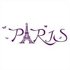 PARIS vinyl word art design by Cool Art Vinyl Paris Winter, Pink Paris, Word Art Design, Paradise On Earth, Art Icon, Cool Art, Words, Google Search, Room