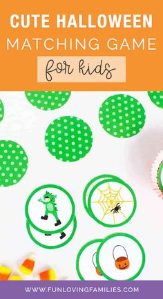 Do your kids love memory matching games? If so, grab this free printable Halloween matching game. It's so cute, and all you need is a printer and scissors! #halloween #halloweencraft #halloweendiy #crafts #kidscrafts #kidsactivities #activities #craftideas #funforkids Fun Halloween Treats, Halloween Games For Kids, Halloween Party Themes, Diy Halloween Decorations, Cute Halloween, Halloween Costumes For Kids, Halloween Crafts, Activities For Kids, Crafts For Kids
