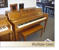 wurlitzer console piano value