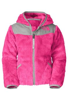 The North Face Toddler Oso Hoodie (Passion Pink) Kids (Ages 0-8)