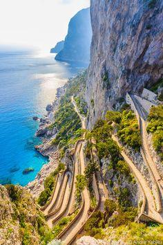 Via Krupp - Capri Italy