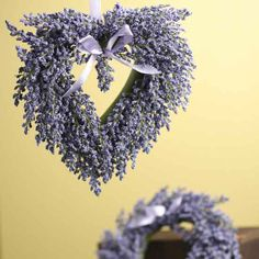 Floral Sale - Sales set of 2 mini wreaths, lavender silk, 7 in and 8 in $5.99. would like to make real ones
