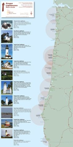 [ ] Visit all Oregon Lighthouses... #OregonBucketList