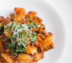 Chef Alan Bergo shares a recipe for lobster mushroom bolognese. Best Dinner Recipes, Great Recipes, Lobster Mushroom, Mushroom Bolognese, Fresh Lobster, Vegetarian Recipes, Cooking Recipes, Vegetable Puree, Healthy Comfort Food