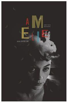 Amelie movie poster Art Print by Adam Juresko