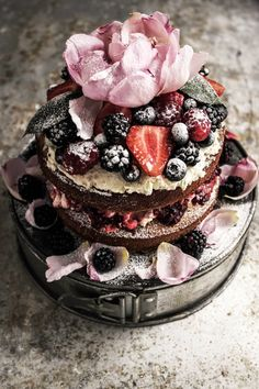 buckwheat summer berry cake