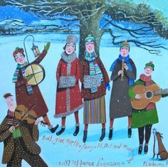 The Wassailers - Stephanie Lambourne - Southwold Gallery