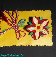 Sergal's quilling art Quilling Jewelry, Paper Quilling, Card Making, Jewellery, Flowers, Cards, Jewels, Schmuck, Maps