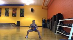 "Dance Fitness With Jessica ""proud mary"" by Tina Turner 5 minutes of squats!"
