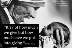 Mother Teresa I don't ever remember hearing this quote. I have heard it twice in the last hour and a half. Great Quotes, Quotes To Live By, Me Quotes, Inspirational Quotes, Spiritual Wisdom, Words Worth, Mother Teresa, Life Motivation, Quotable Quotes