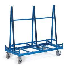 GTARDO.DE:  Plattenwagen zweiseitig, Tragkraft 1200 kg, Ladefläche 2x 1380x270 mm, Maße 1380x880 mm 662,00 €