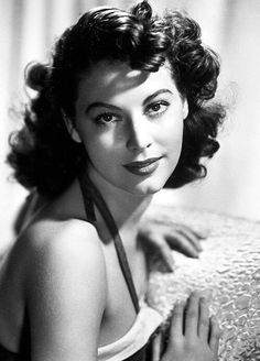 is there some special meaning behind this Ava Gardner constantly appearing?