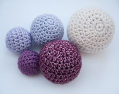 Want a tiny sphere? A giant pouf? Achieve the perfect size with this easy crochet ball formula. On Craftsy!