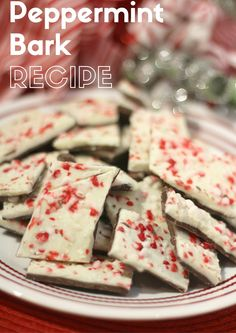 Enjoy this quick and easy peppermint bark recipe. Three simple ingredients and about 30 minutes later you can dive into this tasty treat.