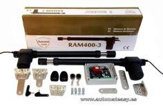 Nuevo KIT para puertas batientes ya disponible para venta en la tienda online: http://www.automateasy.es/cancela/179-kit-2-ram-400-3.html