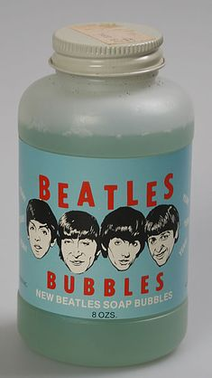 Beatles soap bubbles