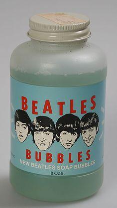 Beatles soap bubbles