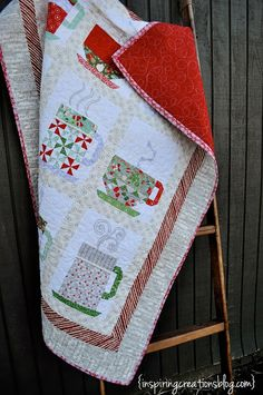 In From The Cold Quilt {Pattern by Kate Spain}