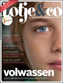 currentcover 280px Lotje & Co, tijdschrift zorgintensieve kinderen