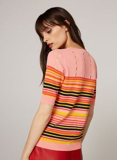 Uterqüe United Kingdom Product Page - Ready to wear - View all - Striped sweater - 65