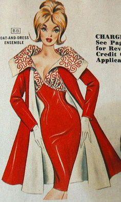 1950s Coat and Dress Ensemble
