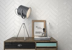 Kitchen Soho Blanco Brick Tiles from who are mad about tiles; We ship the largest selection of tiles at the lowest of prices. Brick Effect Tiles, Brick Tiles, Wall Tiles, Soho, Building Design, Building A House, Metro Tiles, Herringbone Backsplash, Bathroom Inspo