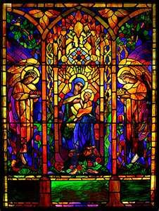 Navy Pier, Chicago Picture: One of many religious windows in the Stained Glass Museum - Check out Tripadvisor members' candid photos and videos of Navy Pier Mosaic Glass, Glass Art, Stained Glass Church, Leaded Glass Windows, Glass Museum, Holy Night, Native Art, Art Museum, Art Pieces