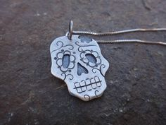 Ms. Daisy Sugar Skull Calavera Halloween by EyvindsAlchemy on Etsy