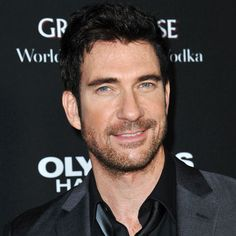 Dylan McDermott's character in the first season of American Horror Story runs around without his shirt on a LOT of the time. Good thing he has a spectacularly hot body and he is over 50!