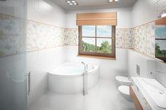 Wizualizacja Mój Dom Lucjan CE Dom, Corner Bathtub, Interiors, Ideal Home, Corner Tub, Interieur, Interior Decorating, Home Interiors