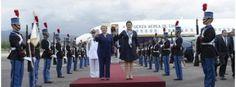 Presidenta Bachelet fue recibida con honores en su llegada a Honduras - Cooperativa.cl