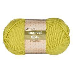 4 Seasons Marvel 8 Ply Yarn 100 g Acrylic Material, Needles Sizes, Just The Way, Yarn Needle, Knitting Projects, The 100, Marvel, Seasons, Crochet
