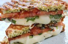 Panini caprese >>>> http://www.srecepty.es/panini-caprese