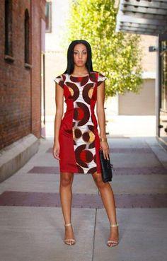 La robe droite glamour, vue par les stylistes Pagnifik. Du style, des couleurs, de l'originalité! Quoi demander de plus ? Alors ? Si vous deviez en choisir une, et une seule ? Sites web Sika Designs | Belya | Sireka Couture | Nubian's | Ashanti Brazil
