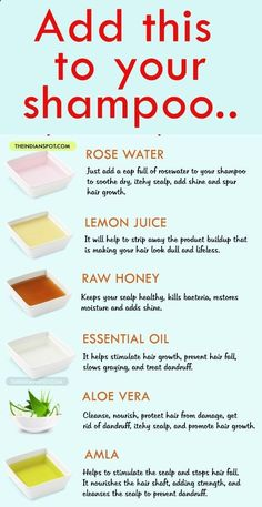 diy beauty tip for healthy happy hair #haircareproductsforwomen,