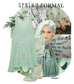 """""""spring flowers"""" by peeweevaaz ❤ liked on Polyvore featuring FOSSIL, Geneva, Caterpillar, boho, polyvoreeditorial, partystyle and polyvorefashion"""