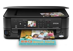 "Epson Stylus NX625 Wireless All-in-One Color Inkjet Printer, Copier, Scanner (C11CA70271). Easy photo printing, PC-free - large 2.5"" color LCD and card slots. Easy wireless printing - share one printer at home with multiple PCs, wirelessly, now with Wi-Fi CERTIFIED. Quickly print from your mobile device - print photos and more wirelessly. World's fastest all-in-one1 - 15 ISO ppm (black), 7.2 ISO ppm (color). Superior image enhancement tools - red-eye removal, automatic photo restoration..."