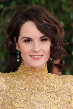 Michelle Dockery.  She has such grace and natural class.  And also, her skin is flawless.  =P