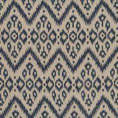 Warwick Fabrics : PARKVILLE, Colour NAVY