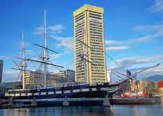 USS Constellation is a sloop-of-war the last sail-only warship designed and built by the United States Navy.  #djmojicaphotos #travel #photography #boltimore #ships #museum #constellation  djmojicaphotos.com