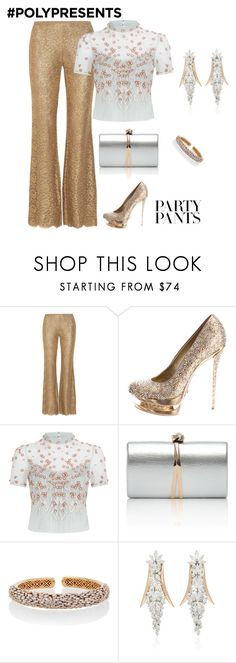 """#PolyPresents: Fancy Pants"" by natalyag ❤ liked on Polyvore featuring Michael Kors, Gianmarco Lorenzi, Temperley London, Suzanne Kalan, Yeprem, contestentry and polyPresents"