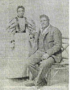 """Amos Harris, known as""""Big Amos"""" is said to have been Nebraska's first negro cowboy. He was reported to weigh between 250 pounds and 300 pounds, and was 6 foot 3 inches tall. He spoke 5 languages and it was reported that he was born south of Galveston, Texas, on the Brazos River, the son of freed slave parents. He was known as """"One of God's True Nobelmen"""". He carried a raw-hide rope which he, himself, had braided. He was considered to be one of the best ropers in the Sandhills."""