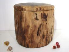 Black Walnut Tree Branch Wooden Box, keepsake box, cremation urn, valet box…