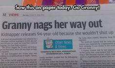 Amazing Granny
