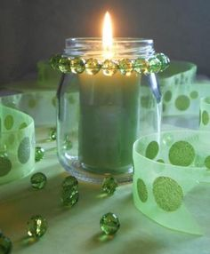 beaded_glass_candle_jar_LRG.jpg (412×500)   >>>>Let's do something different for a centerpiece>>>>>>>