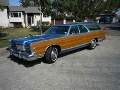 1974 - Mercury Marquis Colony Park station wagon
