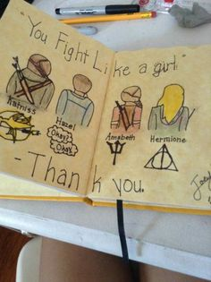 If your a book lover,  then take that phrase as a compliment. And yes I know,  i messed up with Katniss's part.