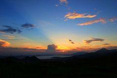 Tangkuban Perahu Mount look beautiful.
