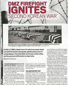 Article from I think the VFW Magazine November 2016..... #barrierfence #dmz #koreandmz #2ndkoreanwar #koreanwar #dmzwar #dmzconflict #korea #rok #armistice #usarmy #2id #7id #24id #1stCav #usfk #eusa #8tharmy #mdl #panmunjom #jsa #38thparallel #38th #seoul #munsan #kittyhawk #libertybell #imjin #scout